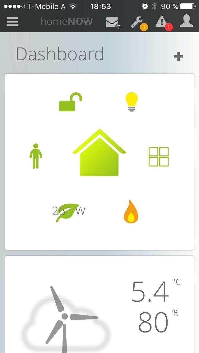 die homenow app f r ios und android eq 3. Black Bedroom Furniture Sets. Home Design Ideas