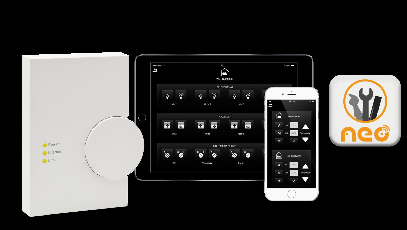 Home Design App Iphone Mediola Aio Creator Neo Homematic Edition Eq 3
